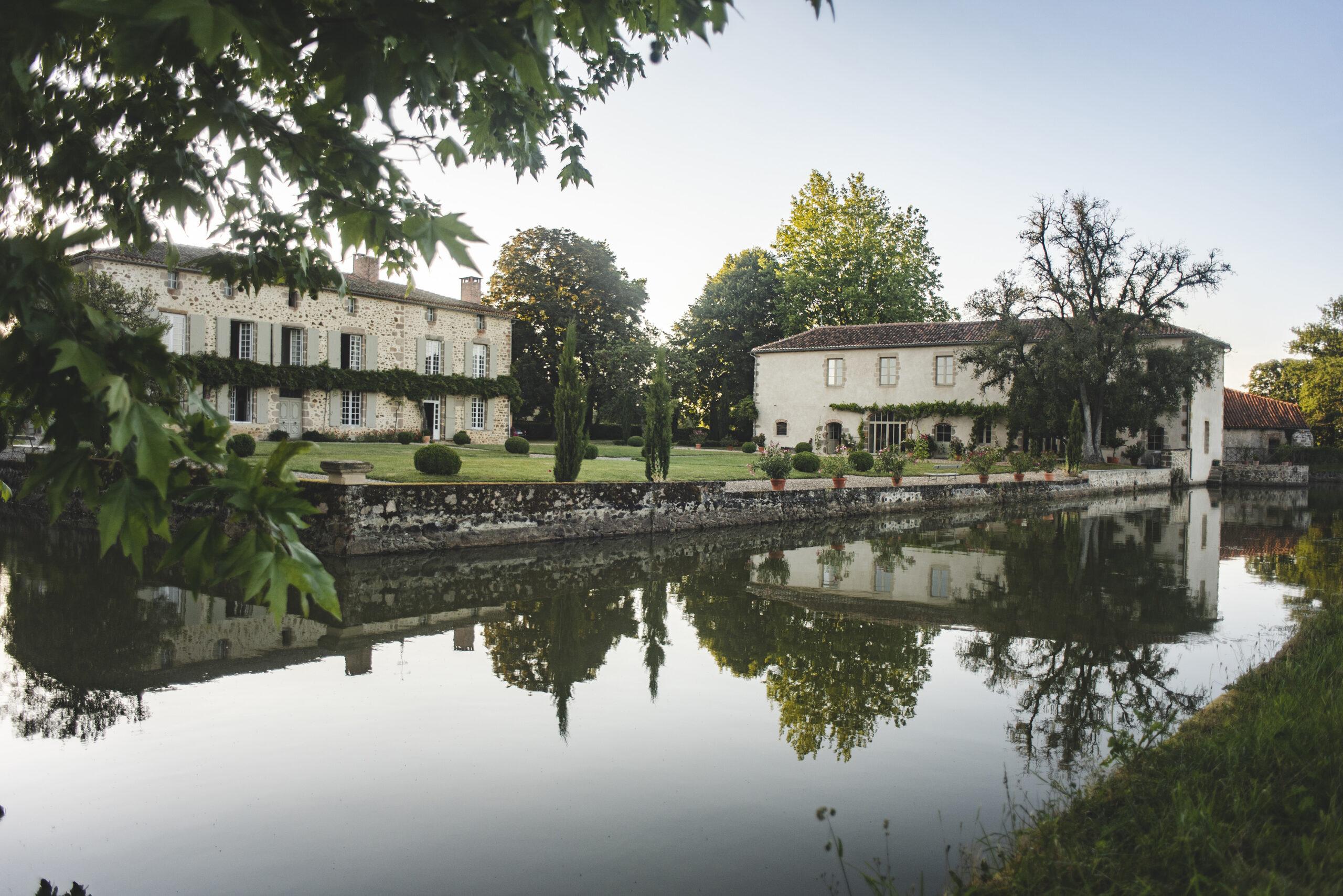Domaine La Partoucie- douves