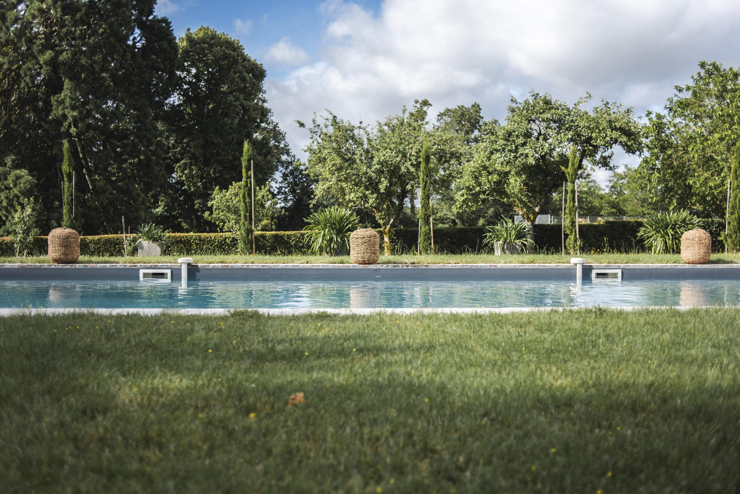 Domaine La Partoucie- Piscine